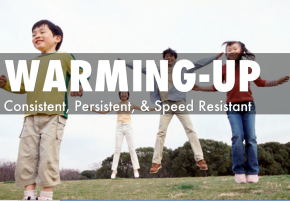 #flipband Episode 3: Warming-Up: Consistent, Persistent, and Speed Resistant