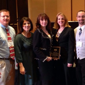 Dr. Gravenor, Superintendent, Honored by NJ Music Educators Association