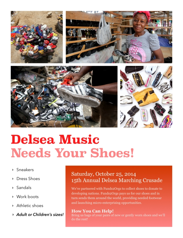 Competition Shoe Drive Flyer